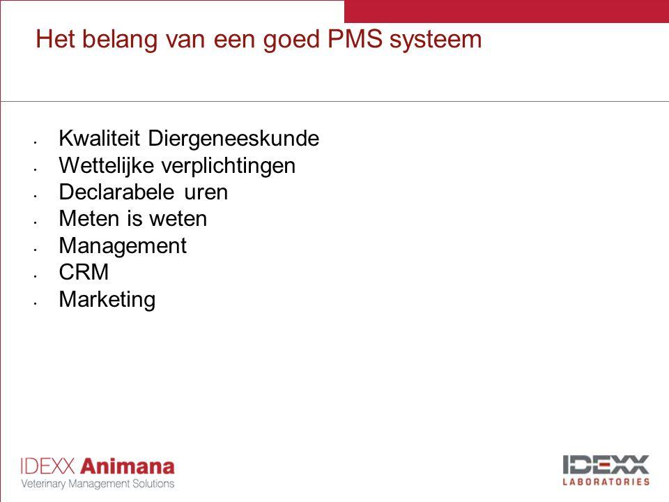 Het belang van een goed PMS systeem