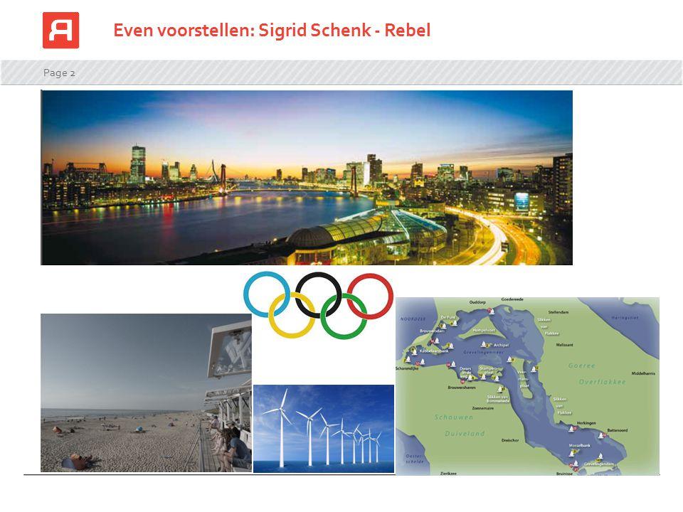 Even voorstellen: Sigrid Schenk - Rebel