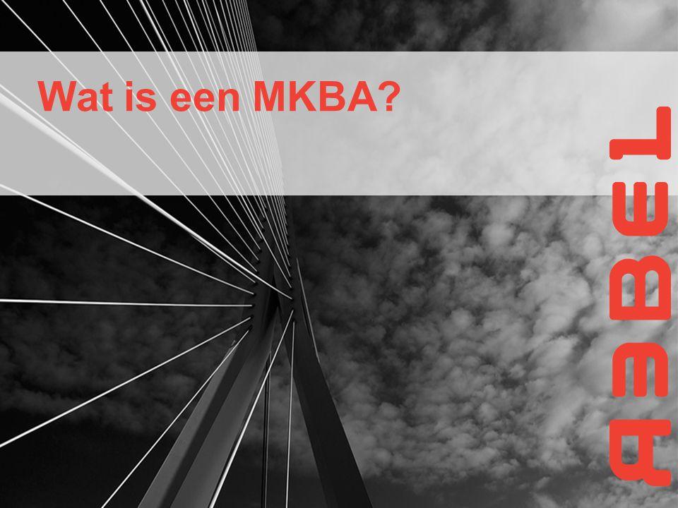 Wat is een MKBA