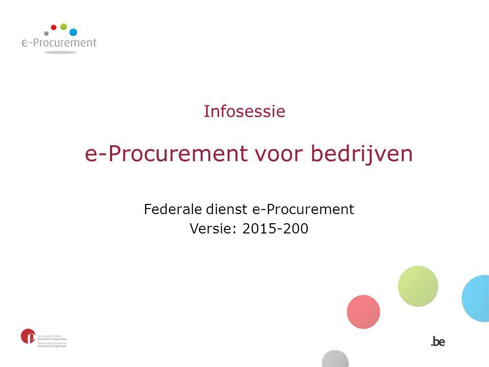 e-Procurement voor bedrijven