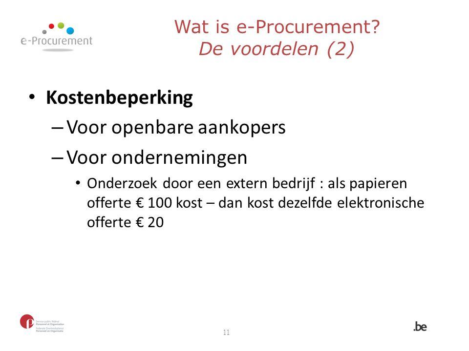 Voor openbare aankopers Voor ondernemingen