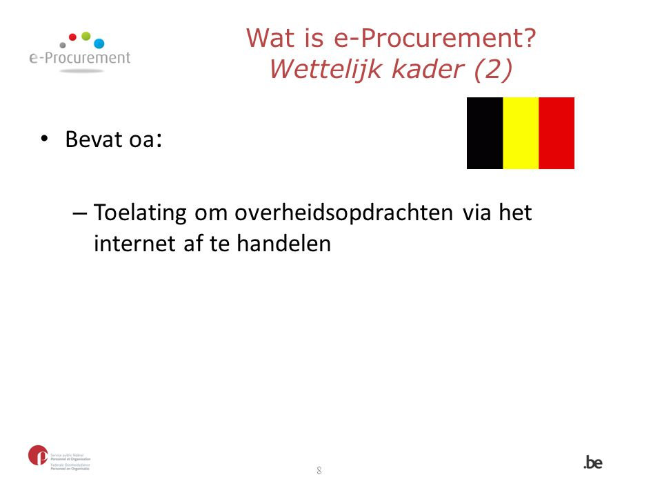 Wat is e-Procurement.