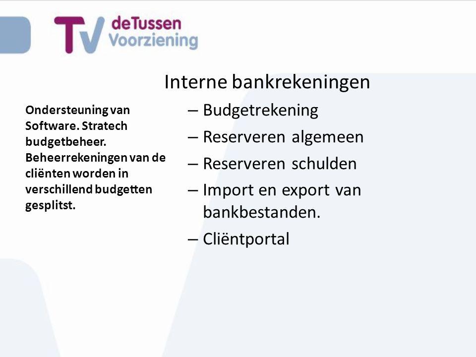 Interne bankrekeningen