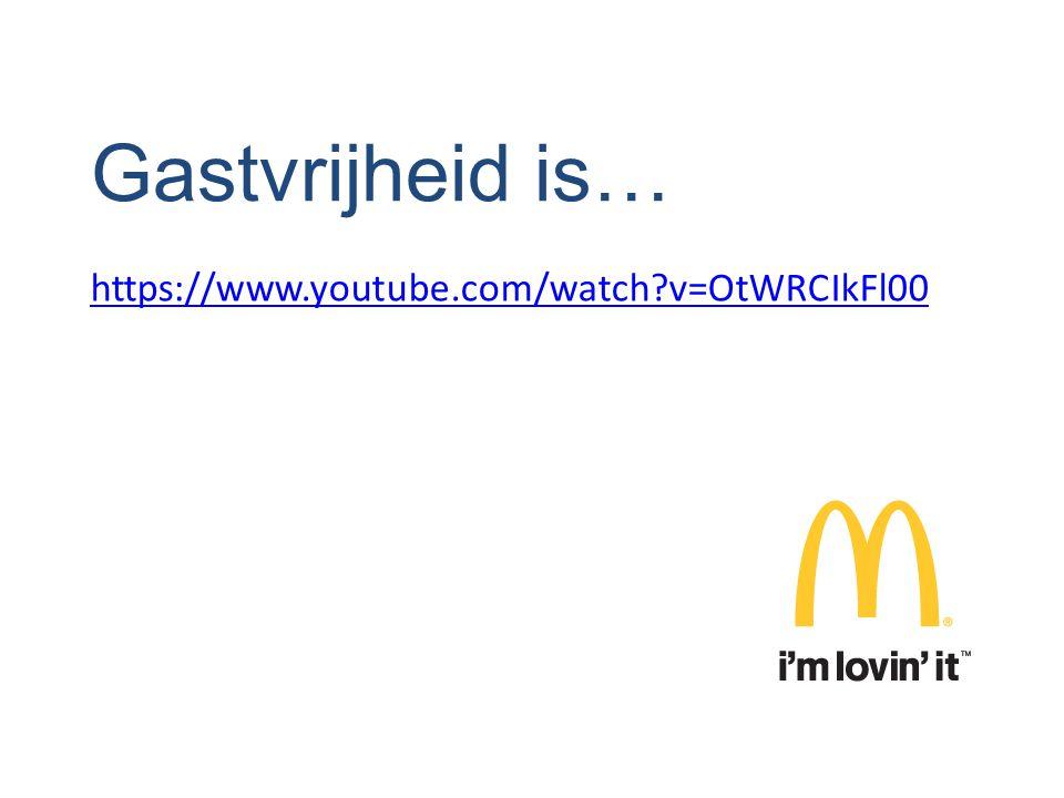 Gastvrijheid is… https://www.youtube.com/watch v=OtWRCIkFl00