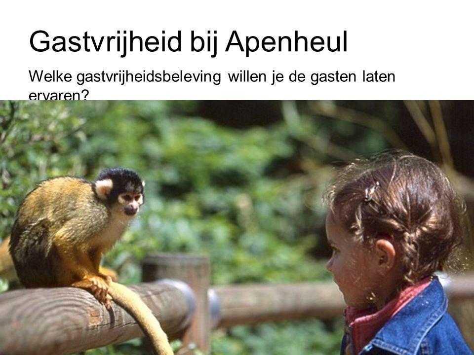 Gastvrijheid bij Apenheul