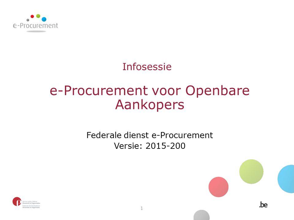 e-Procurement voor Openbare Aankopers