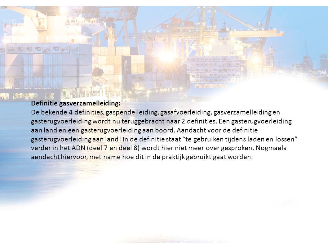 Definitie gasverzamelleiding: