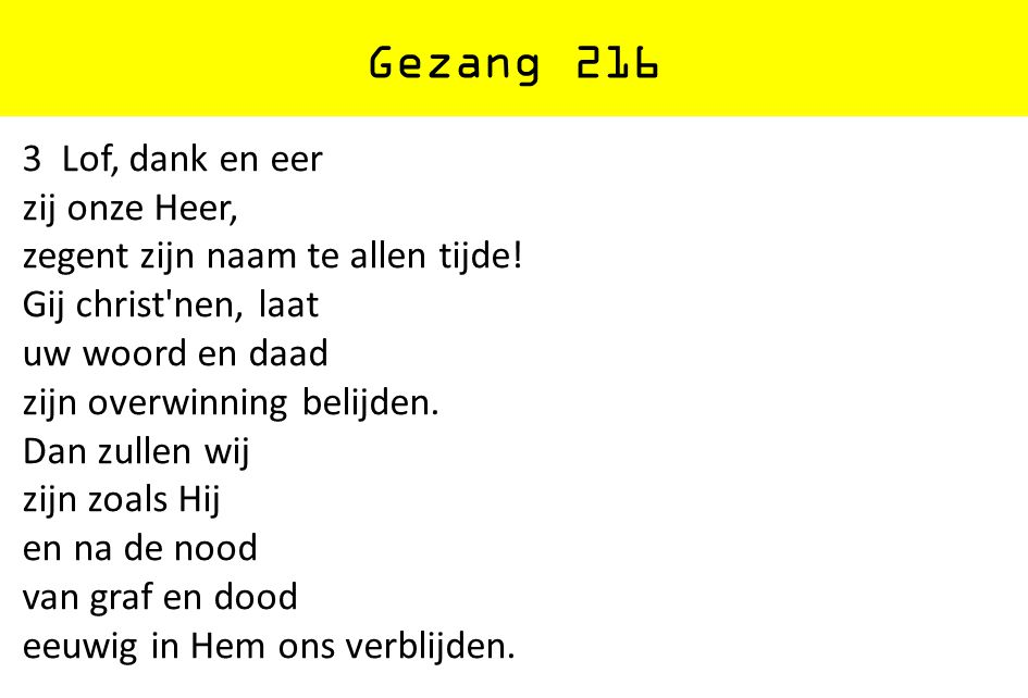Gezang 216