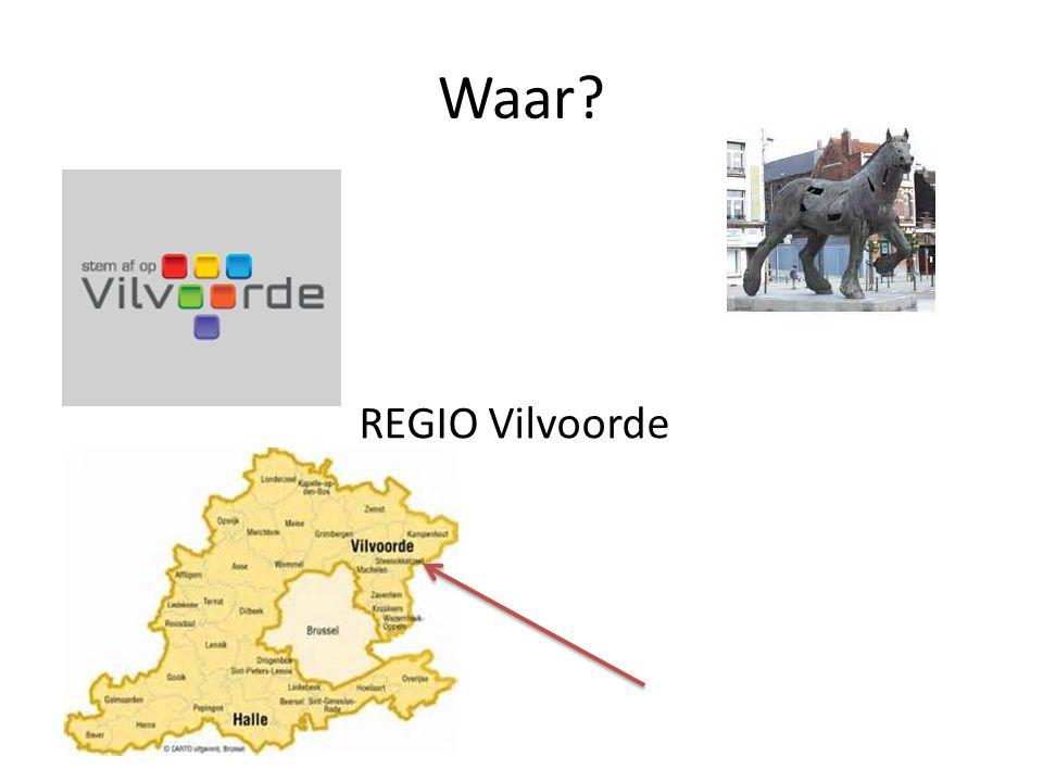 Waar REGIO Vilvoorde