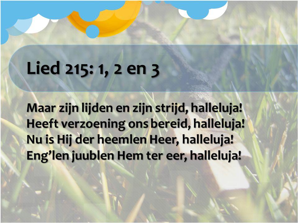 Lied 215: 1, 2 en 3