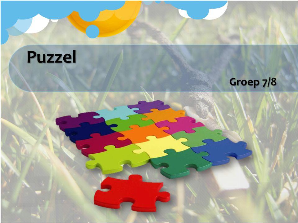 Puzzel Groep 7/8