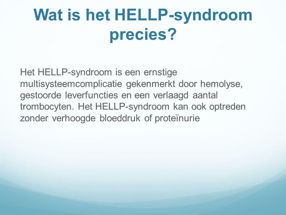 Wat is het HELLP-syndroom precies
