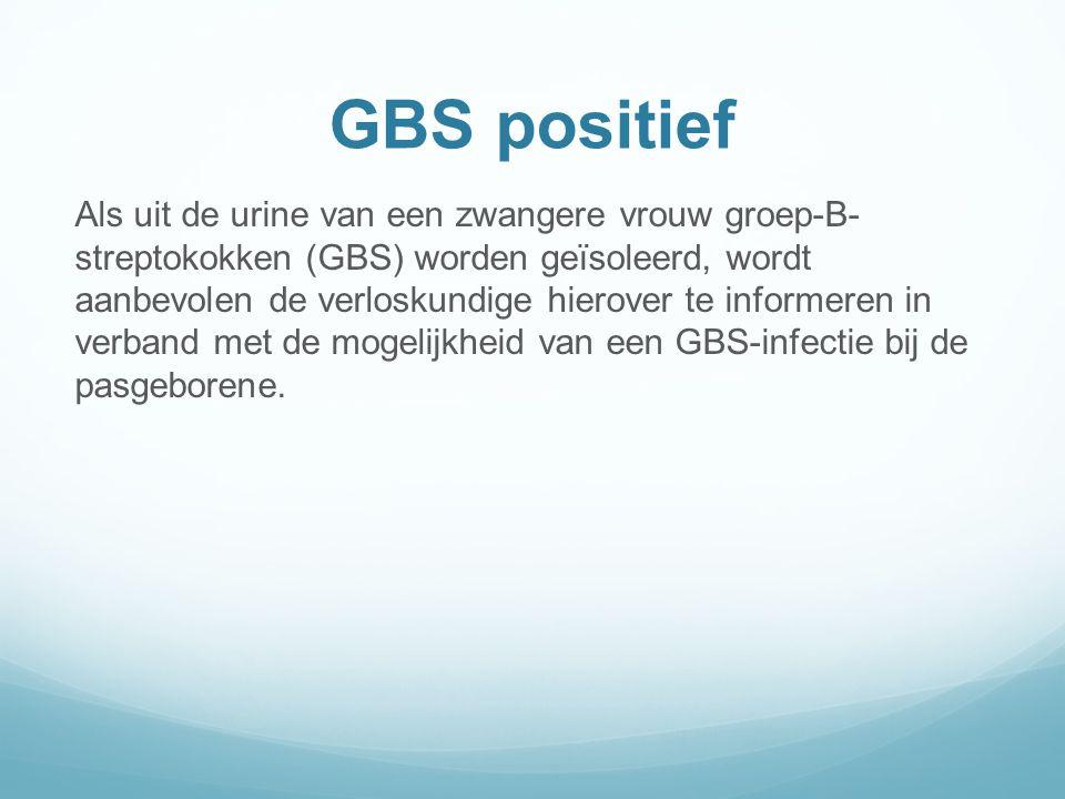 GBS positief