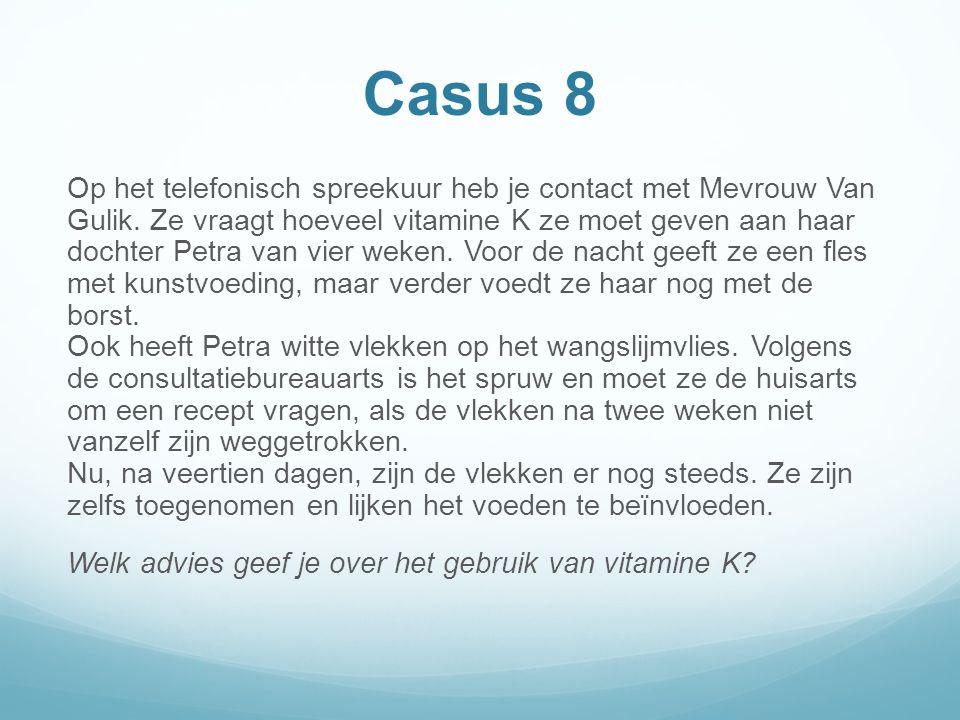 Casus 8