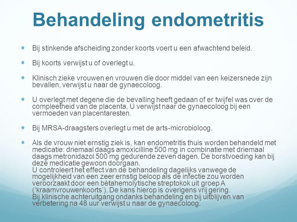 Behandeling endometritis