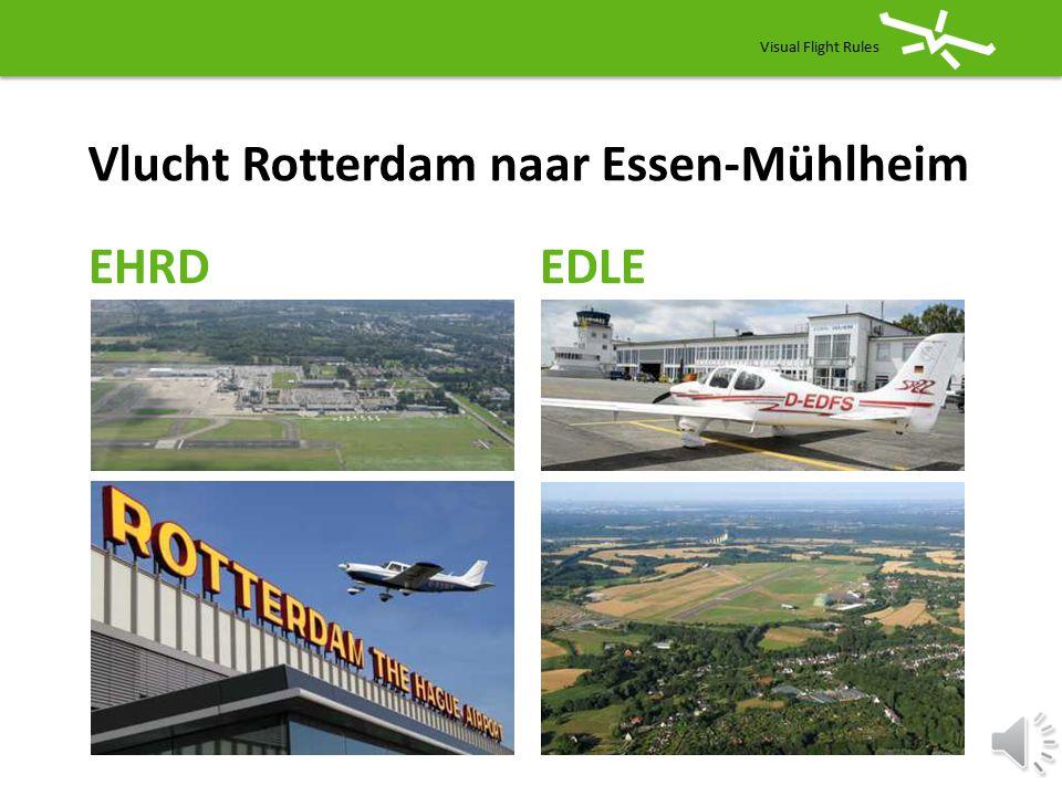 Vlucht Rotterdam naar Essen-Mühlheim