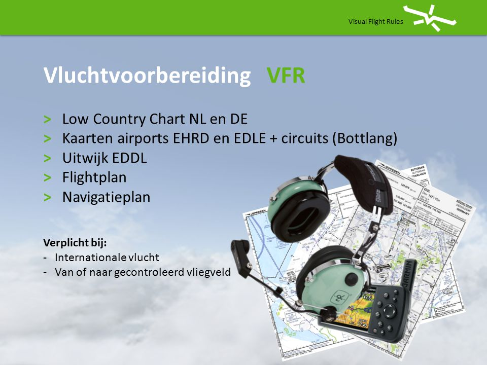 Vluchtvoorbereiding VFR
