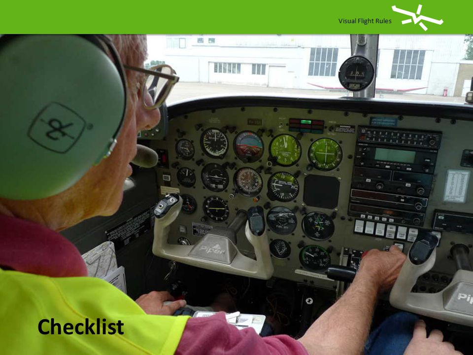 Visual Flight Rules Checklist