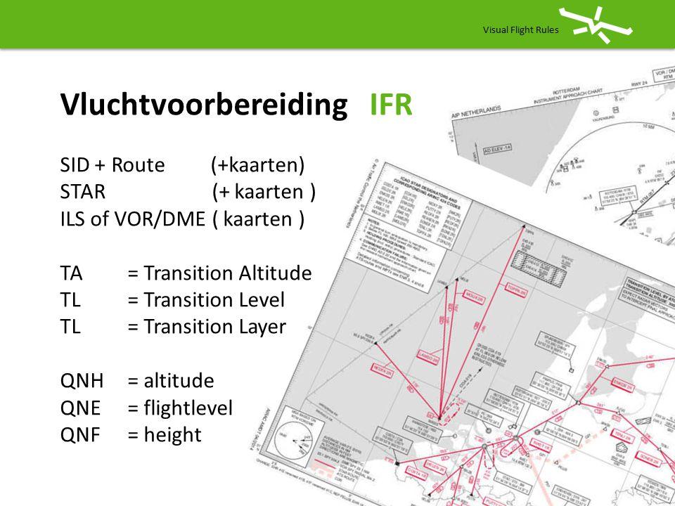 Vluchtvoorbereiding IFR