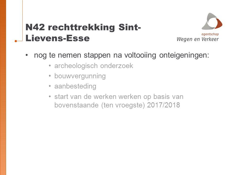 N42 rechttrekking Sint-Lievens-Esse