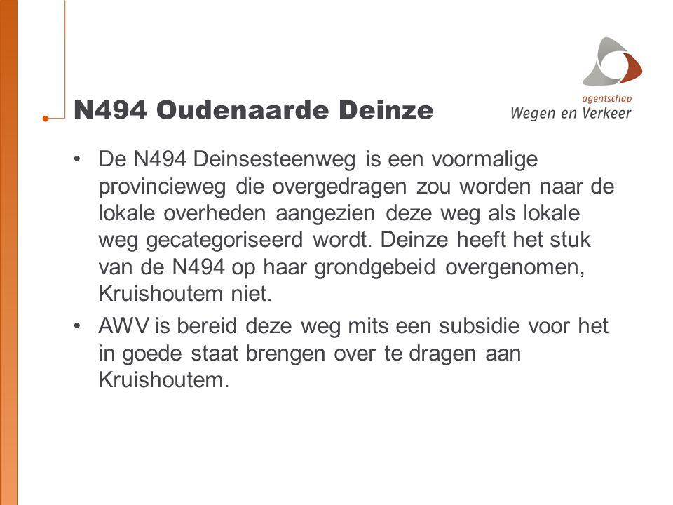 N494 Oudenaarde Deinze