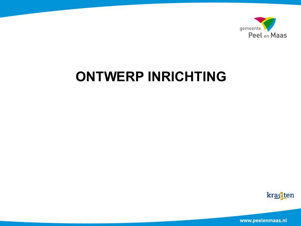 ONTWERP INRICHTING