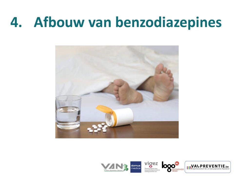 Afbouw van benzodiazepines