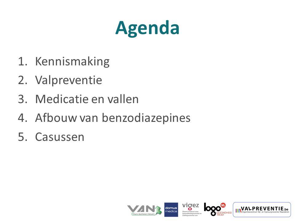 Agenda Kennismaking Valpreventie Medicatie en vallen