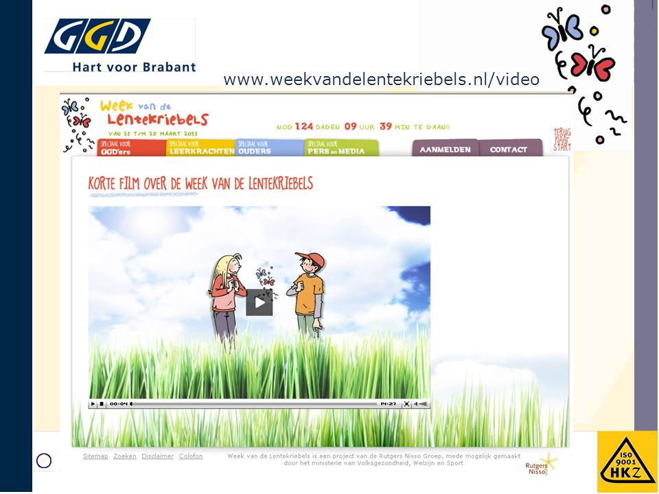 www.weekvandelentekriebels.nl/video Filmpje verplaatst naar hier.