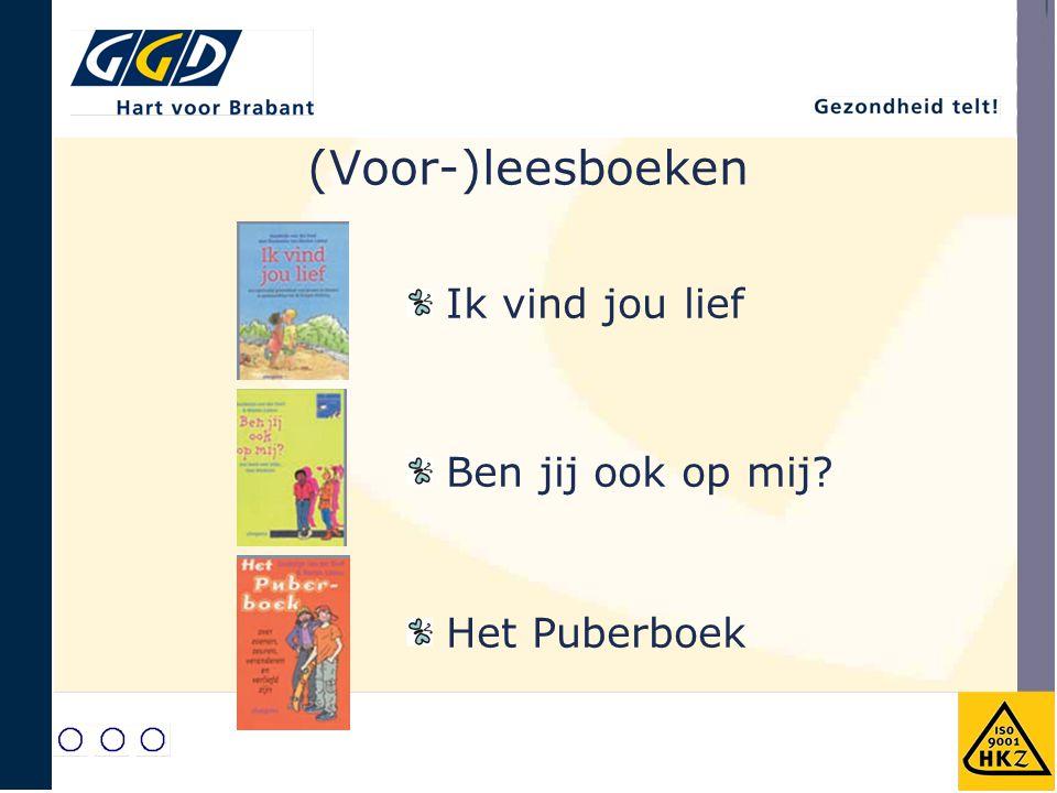 (Voor-)leesboeken Ik vind jou lief Ben jij ook op mij Het Puberboek