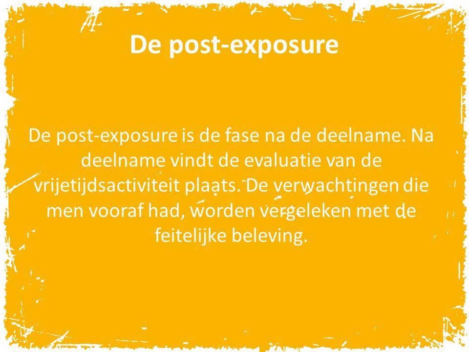 De post-exposure