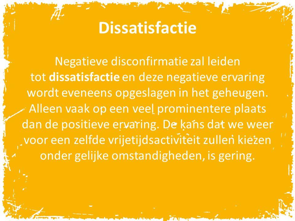 Dissatisfactie