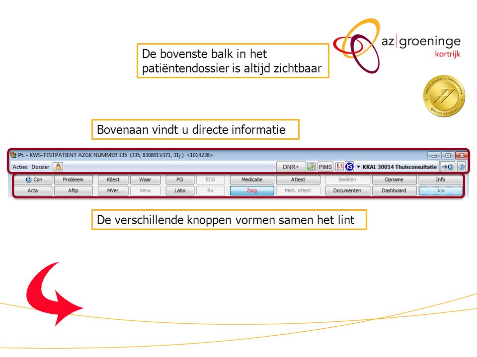 KWS patiëntdossier/uitleg