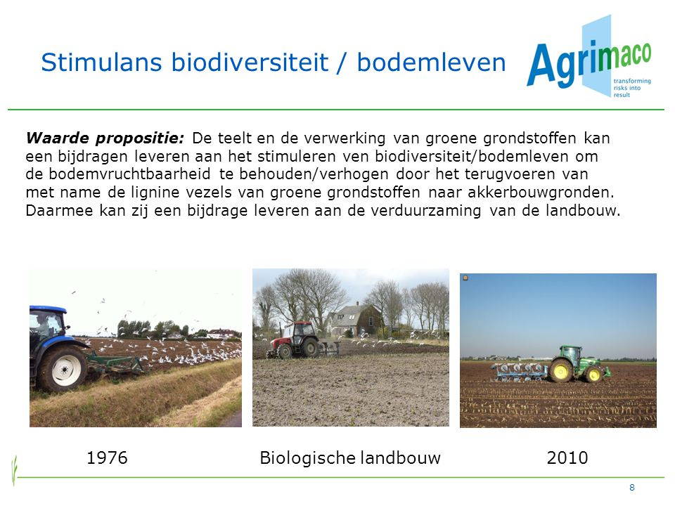 Stimulans biodiversiteit / bodemleven