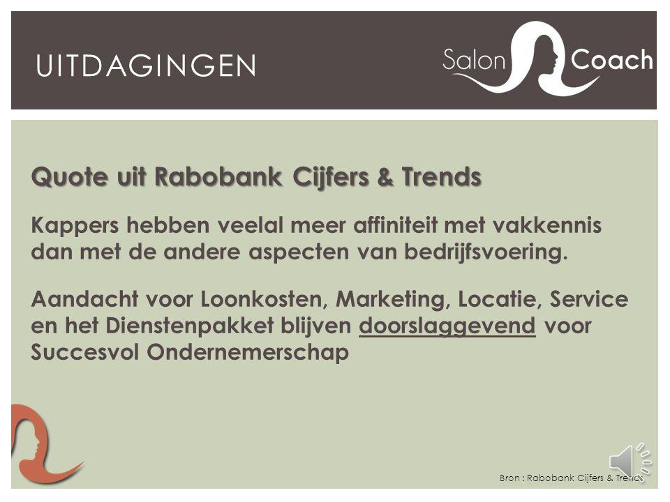 Uitdagingen Quote uit Rabobank Cijfers & Trends