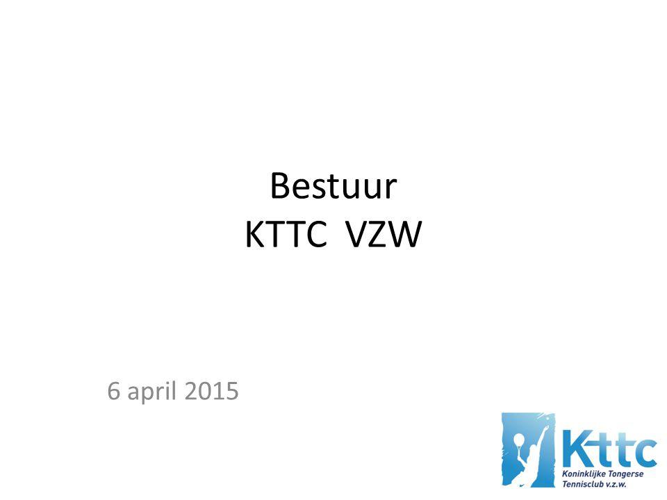 Bestuur KTTC VZW 6 april 2015