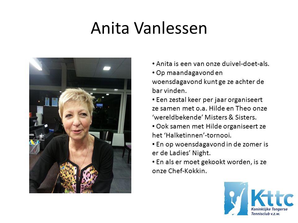 Anita Vanlessen Anita is een van onze duivel-doet-als.