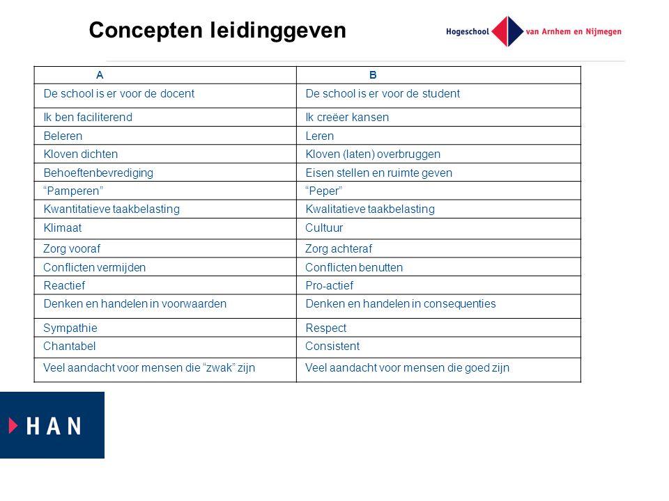 Concepten leidinggeven