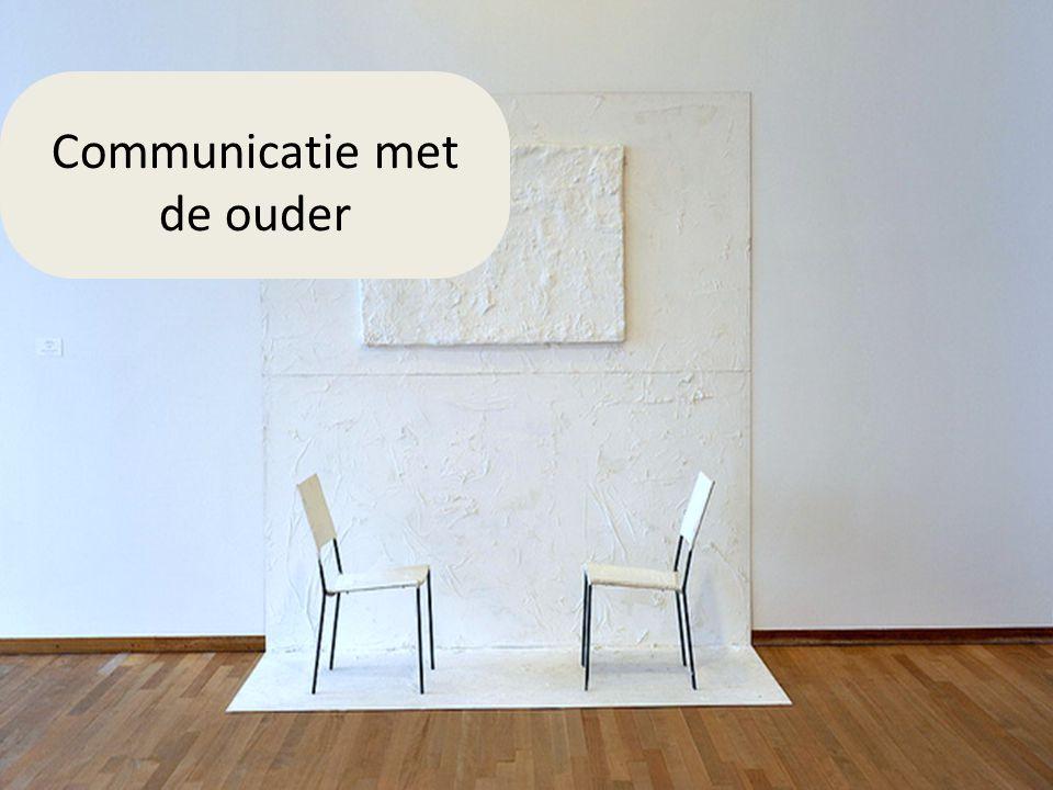 Communicatie met de ouder