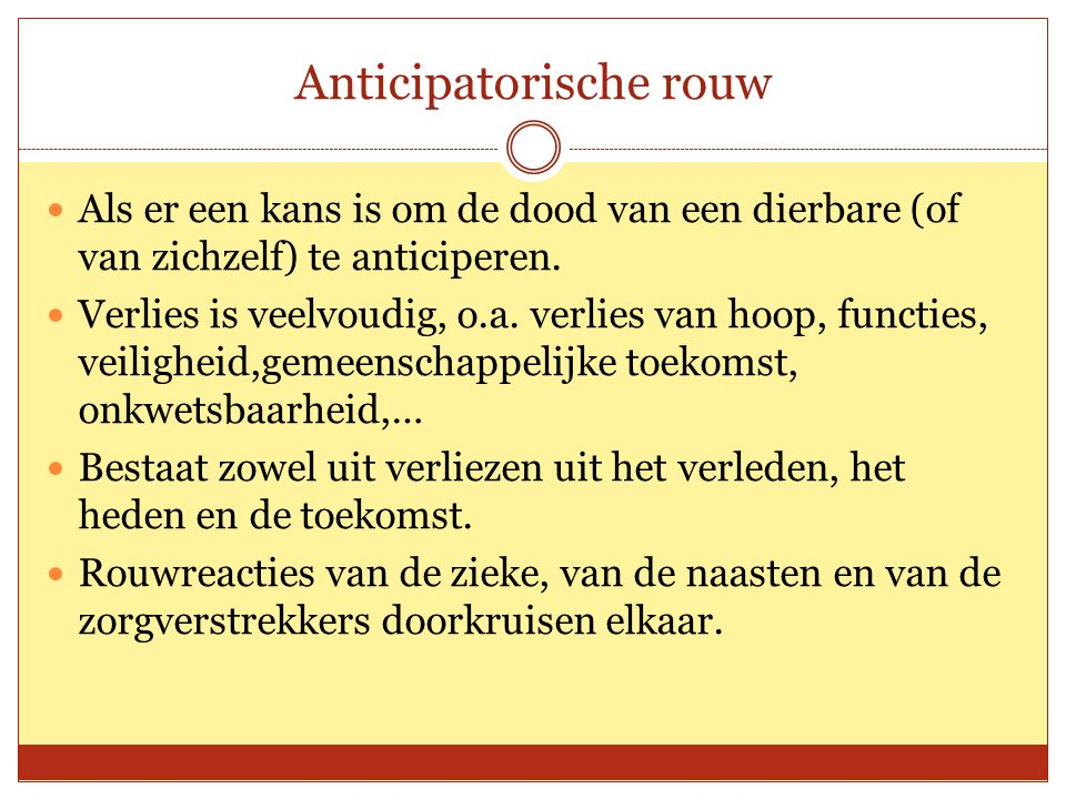 Anticipatorische rouw
