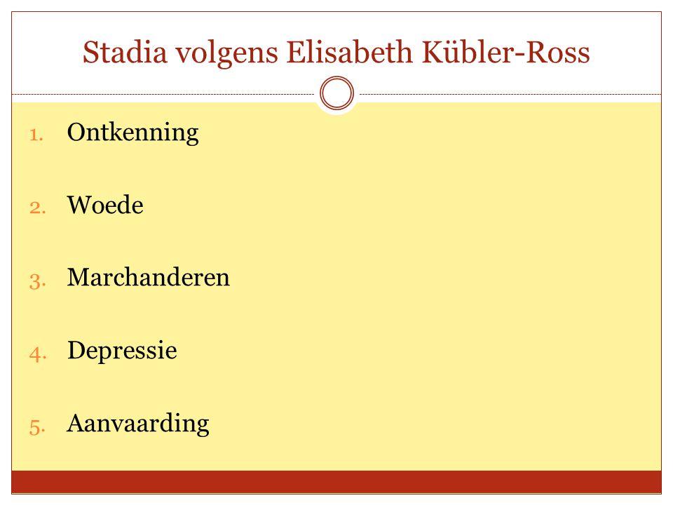 Stadia volgens Elisabeth Kübler-Ross