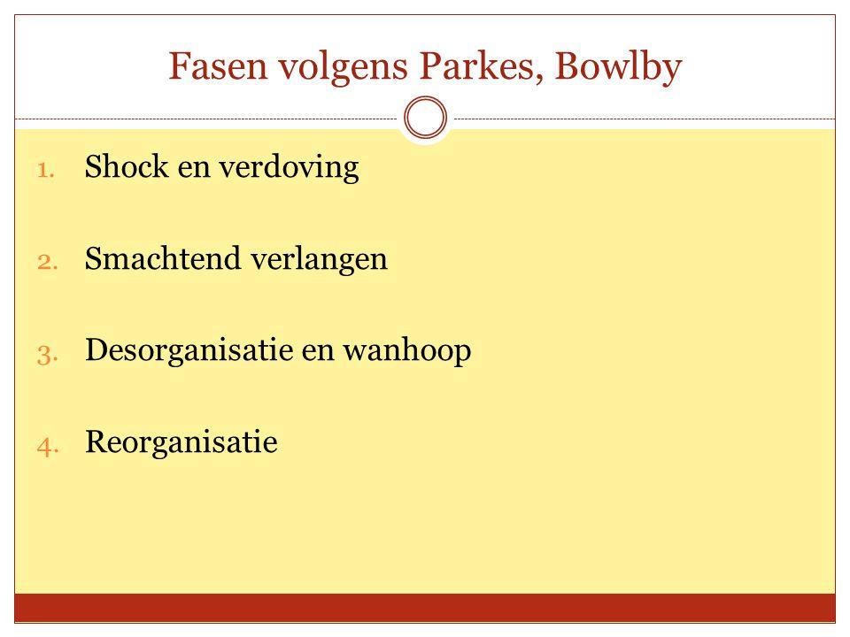 Fasen volgens Parkes, Bowlby