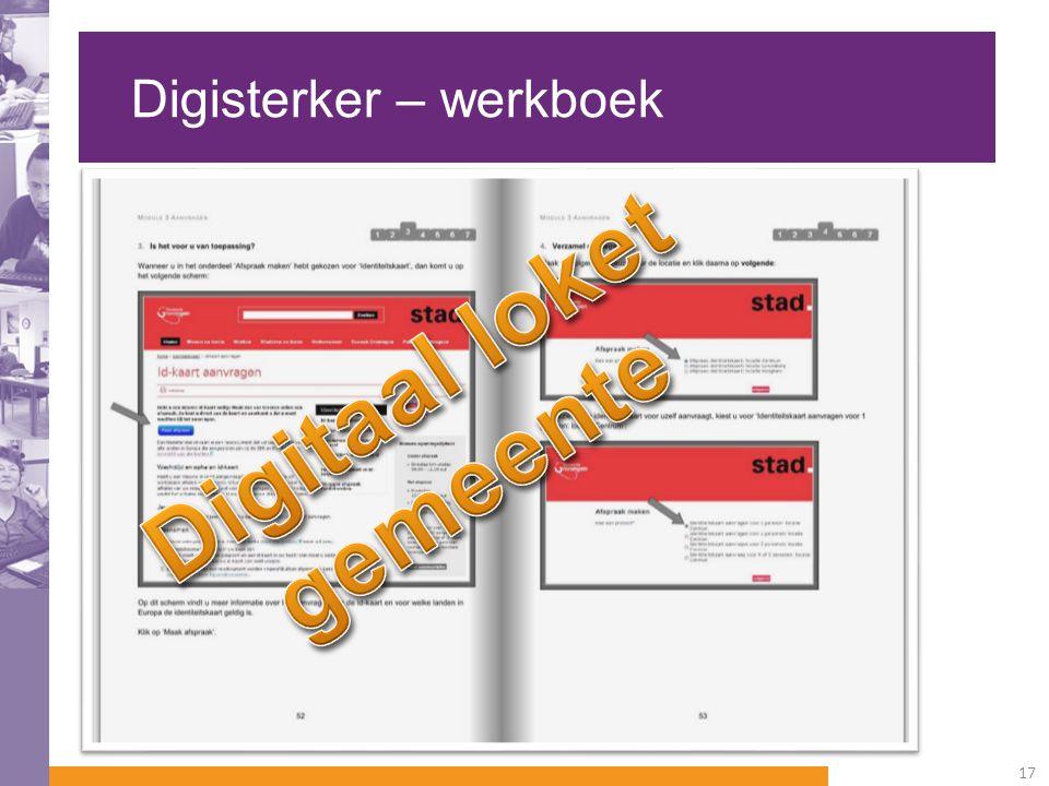 Digisterker – werkboek