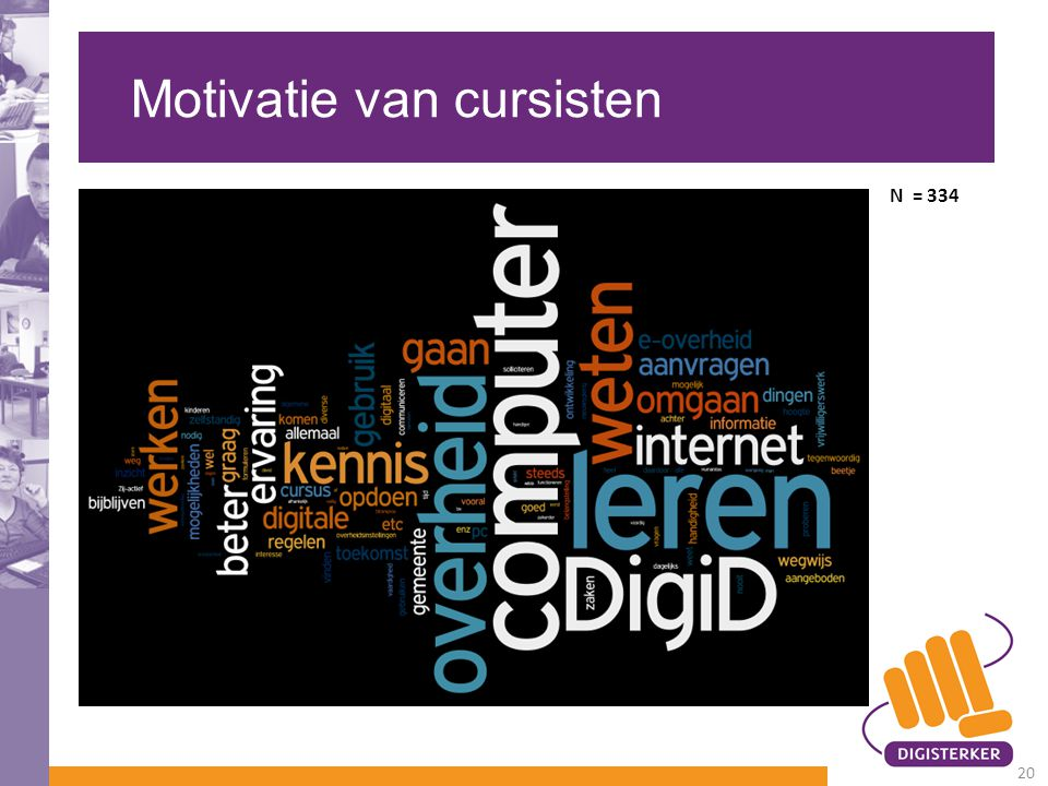 Motivatie van cursisten