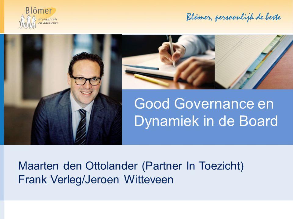Good Governance en Dynamiek in de Board