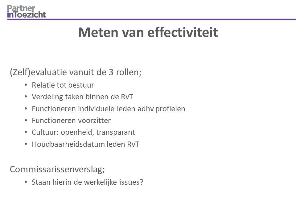 Meten van effectiviteit