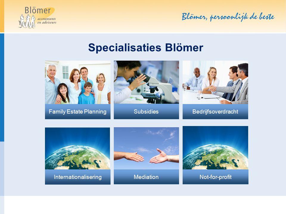 Specialisaties Blömer