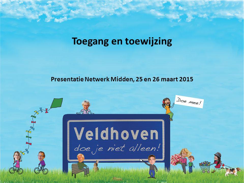 Toegang en toewijzing Presentatie Netwerk Midden, 25 en 26 maart 2015