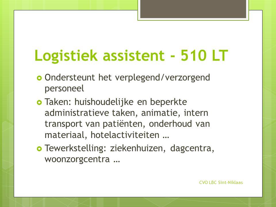 Logistiek assistent - 510 LT