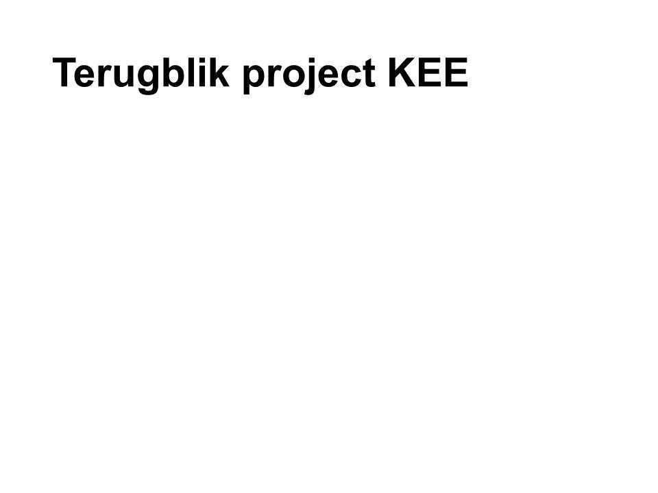 Terugblik project KEE